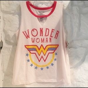 Wonder Woman Tank Top Muscle Superhero